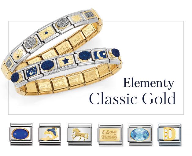 Elementy Nomination Composable Classic Gold, Linki Nomination