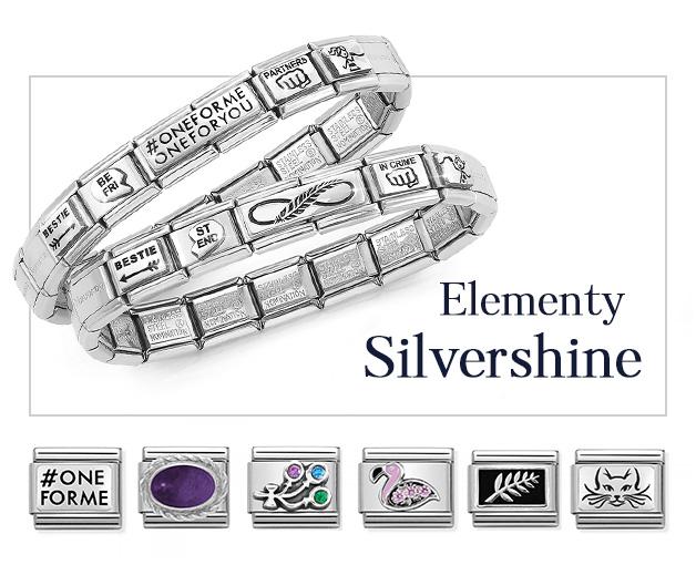 Elementy Nomination Composable Slivershine, Nomination Charms